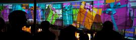 El centro comercial Plaza Imperial de Zaragoza inaugura la Navidad con un espectáculo de video mapping