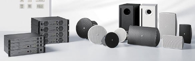 Yamaha displayed its wide range of installed audio products in ISE 2013