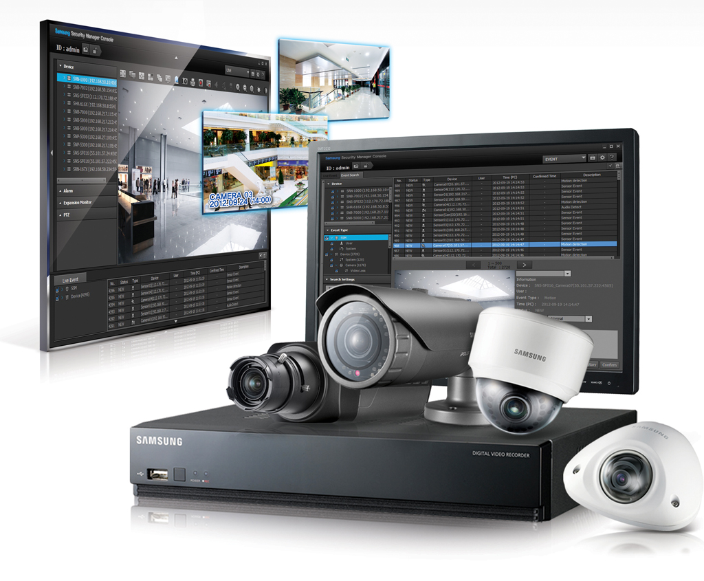 Samsung techwin lanza el software gratuito de - Camara de video vigilancia ...