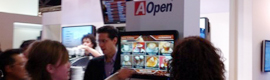 AOpen will mount the ' store of the digital signage' in their stand of ISE 2013