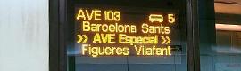 La nueva estación de AVE de Girona apuesta por la solución Deneva de Icon Multimedia