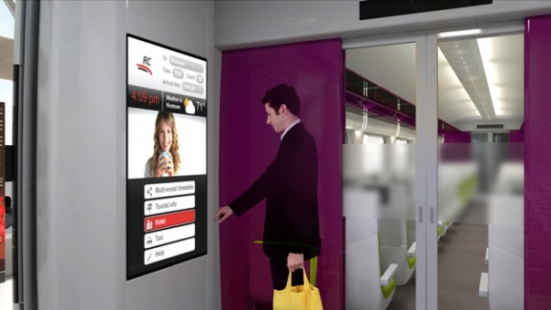 Alcatel-Lucent digital signage
