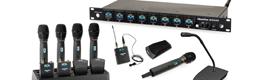 ClearOne presenta el nuevo sistema de micrófono inalámbrico digital WS800