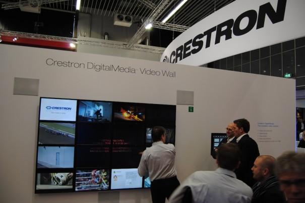 Crestron en ISE 2013