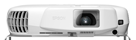 Epson EB-W16SK, its first commercial use passive 3D projection system features
