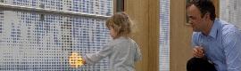Una senda digital en LED guía a los niños en su camino al quirófano