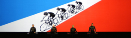 Kraftwerk committed to Watchout to create stereoscopic 3D and interactivity on their new tour