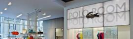 YCD Multimedia ayuda a Lacoste a mejorar la notoriedad de su marca en sus principales tiendas de EE.UU.