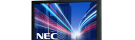 NEC Display Solutions incorpora retroiluminación LED a sus displays de la serie MultiSync V