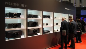 Line up de proyectores de Panasonic