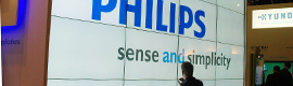 Philips Public Signage impresses at ISE with their giant videowalls