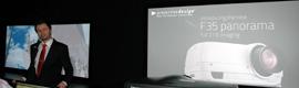 Projectiondesign estrena en ISE 2013 el primer proyector DLP 'panorámico'