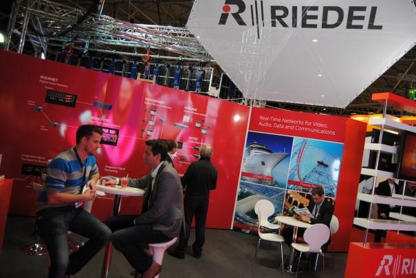 Riedel en ISE 2013