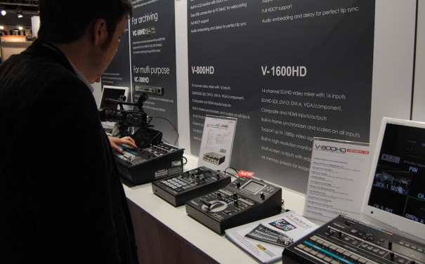 Roland at ISE 2013