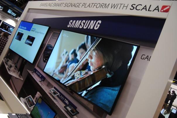 Samsung junto a Scala en ISE 2013