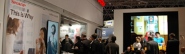 Sharp offers its latest advances in design LCD monitors at ISE 2013