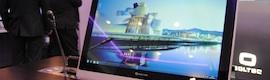 Soltec acude a ISE con su nueva gama de monitores TFT motorizados para mesas de salas de consejo