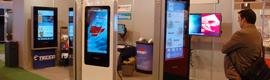 Tecco exhibirá en ISE 2013 sus nuevos modelos de tótems digitales