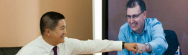 AT & T and Polycom partner to enhance telepresence