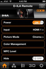 D-ILA Remote