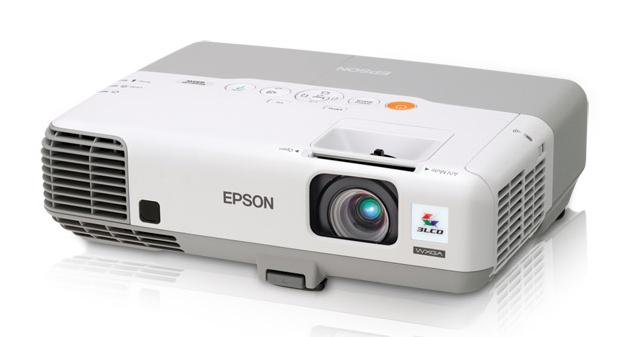 Epson PowerLite 935W ultra-helle Klassenzimmer Projektor startet