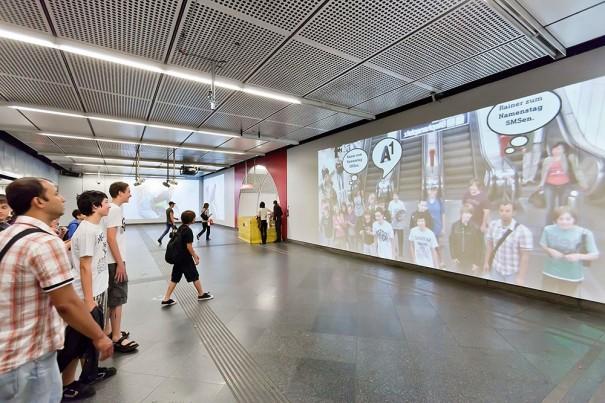Gewista (Realidad Aumentada en Metro Viena)