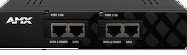 Un nuevo inyector con doble alimentación sobre DXLink de AMX soluciona problemas de distribución remota