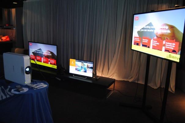 Sony Roadshow Bravia HTML