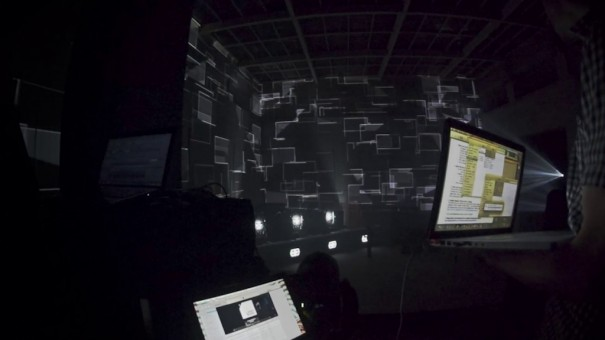 Mapping 3D 'Kraken' (Foto: Visualma)