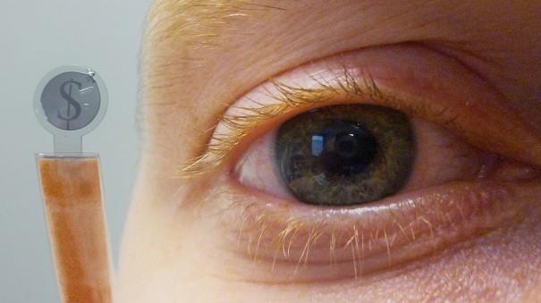 Contact Lens Display