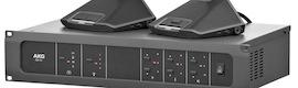 AKG CS3, el nuevo sistema de debate capaz de gestionar hasta 120 conferenciantes.
