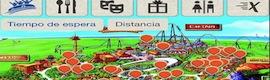 Mapas interactivos y geolocalización para disfrutar en PortAventura