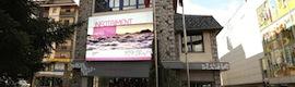Andorra crea un nuevo punto de interacción e información para sus ciudadanos con la instalación de una pantalla digital