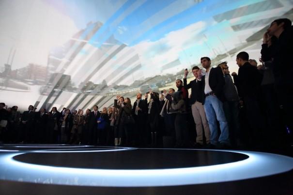 Audi A3 Experience con Christie