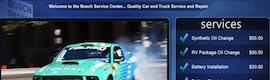 Bosch Car Service utiliza el digital signage para comunicarse con empleados y clientes