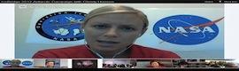 La NASA habla por primera vez en español en videoconferencia