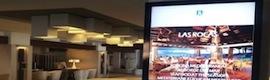 Publicidad dinámica en el hotel Jardín Tropical de Tenerife