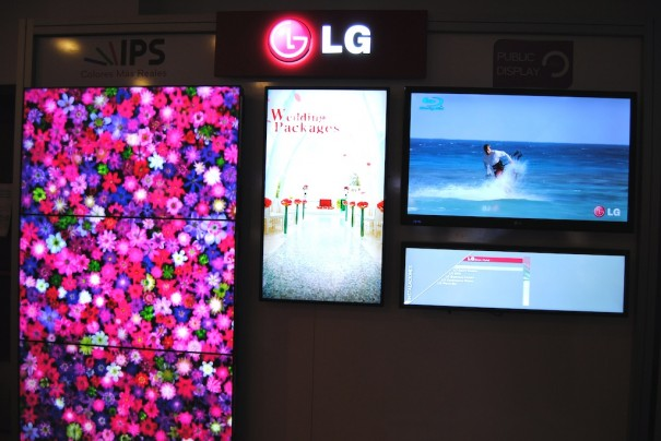 LG Roadshow Display profesional