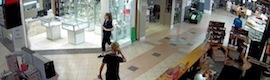Lilin protege con su gama iMegapro un centro comercial en Australia