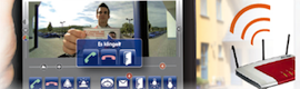 An app facilitates intelligent and anywhere access to cameras and video door entry of Mobotix