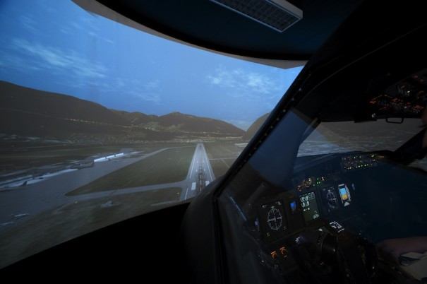 Multi Pilot Simulations (Foto: Projectiondesign)
