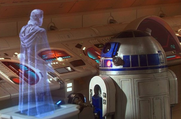 Holografia en 'Star Wars'