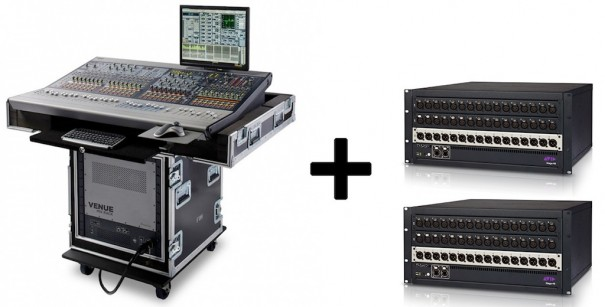 Venue MixRack Remote Option