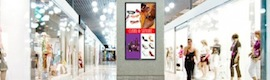 The digital signage in Spain and involves an advertising investment of 3.7 million euros