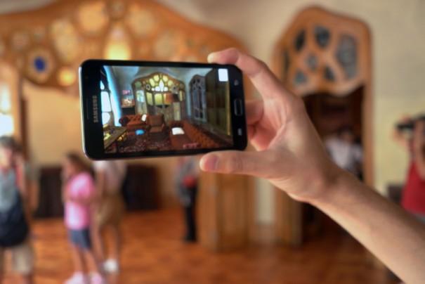 Realidad aumentada en la Casa Batlló (Foto. Casa Batlló)
