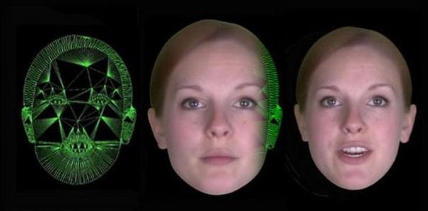 Busto virtual Zoe