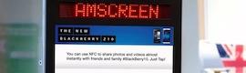 Amscreen ofrecerá en su red de 6.000 pantallas contenidos de deportes y entretenimiento de ContentTed