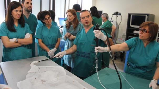Hospital Virtual (Foto: Luis Polo / Diario de Ferrol)