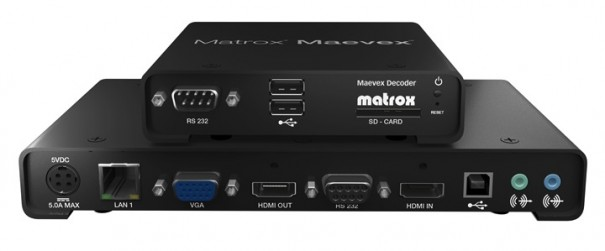 Matrox Maevex 5100 NAB2013