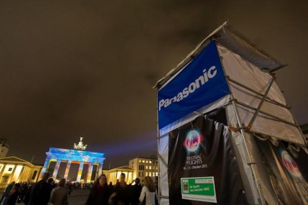 Panasonic Puerta Brandenburgo